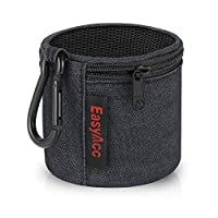 EasyAcc Carry Case for Anker SoundCore/ Betron KBS08 BPS60/ JRS40 Pop Up Capsule/ X-Mini II 2nd Generation Speaker Mini Bluetooth Speaker Carry Case Pouch Wireless Bluetooth Speakers Bag Portable Wear
