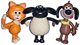 Timmy Time - Posable Figures 3 Pack - Timmy, Mittens & Ruffy [Spanish Import]