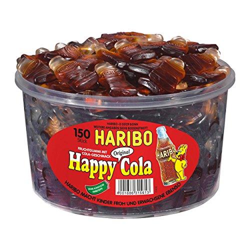 HARIBO Happy-Cola grande bouteille 150 pièces
