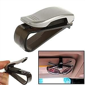 kfz brillenhalterung silber f r auto pkw lkw. Black Bedroom Furniture Sets. Home Design Ideas