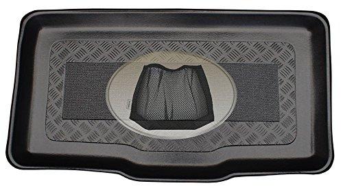 Preisvergleich Produktbild ZentimeX Z3035276 Kofferraumwanne + Klett-Organizer für Fiat Panda Mystyle 3 Typ 312/319 Schrägheck Hatchback 5-türer 2012-