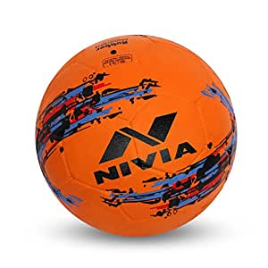 Nivia Storm Football, Size 5 (Orange)