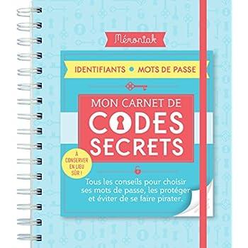 Carnet de codes secrets Mémoniak 2019