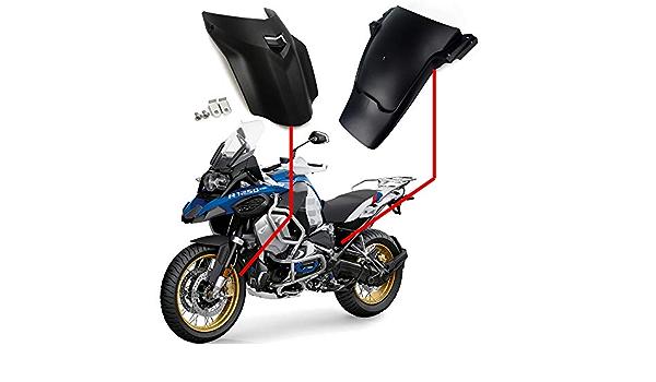 Yuanmei Fit for BMW R1250GS R 1250 GS 1250 R 1250GS LC ADV 2019 Motorrad-Kotfl/ügel hinten Abdeckung Kotfl/ügelverl/ängerung Spritzschutz Reifen Hugger