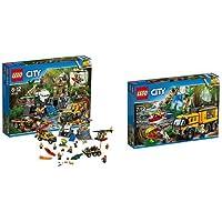 Pack LEGO - City - Le site d'exploration de la jungle et Le laboratoire mobile de la jungle