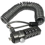 LogiLink NBS004 - Cable de seguridad para portátil, negro