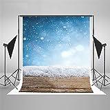 Fotografia Background/Microfibra, Snowboard Wood Background fotografico Cloth, Fotografia di matrimonio Background, sfondo stampato - Studio Studio Background Cloth, 100X150cm