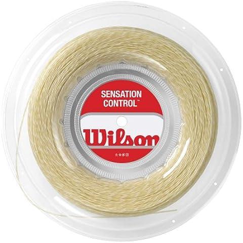 WILSON Sensation Control Cordaje de Tenis Rollo (200m)