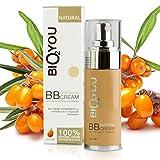 Natural Soft Beige BB Creme mit Panthenol (Provitamin B5) Aloe Vera Kokos-Öl Kamille Wertvollem...