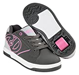 Heelys Unisex-Kinder Fitnessschuhe, Mehrfarbig (Charcoal/Grey / Pink 000), 35 EU