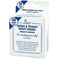 Ashton & Parsons Infants Teething Pain Relief Powder, Pack of 30