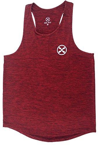 OX-Fit-Men-Vest-Tank-Top-Sleeveless-Stringer-Vest-Training-Singlet