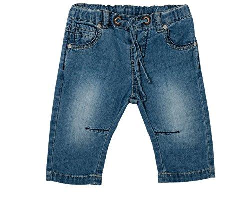 Chicco Baby Jungen (0-24 Monate) Jeanshose blau blau
