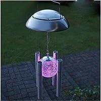 MEIWEI Luci LED solare giardino Decor Wind Chimes