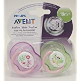 Avent Freeflow Soother Twin Pack 18m+ (Cat/Bird)
