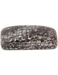 Unisexe - Lunettes de soleil antireflet gradient style aviateur - Étui noir motif serpent