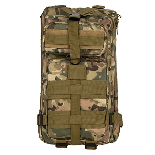 Homdox Multifunktionale Outdoor-militärischer taktischer Rucksack Rucksäcke Sport Camping Wandern Trekking-Tasche CP