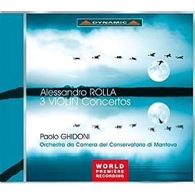 Rolla: 3 Violin Concertos