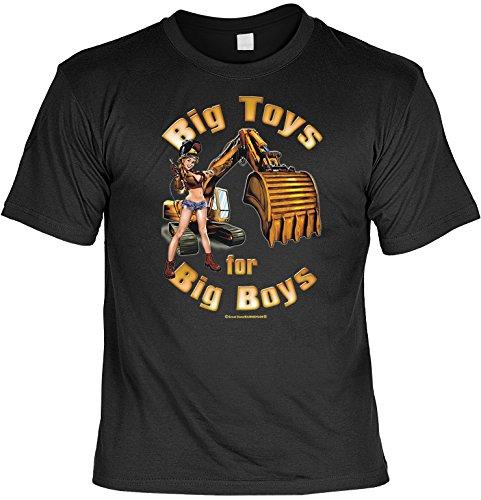 Unbekannt Witziges Sprüche Fun T-Shirt : Big toys -