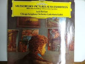 MUSSORGSKY, Modest: Pictures at an Exhibition -- DEUTSCHE GRAMOPHONE (1981)Chicaco Symphony Orchestra, Giulini C.M. (cond)DGG 2531354