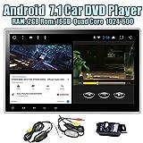 EinCar Android 7.1 Nougat 2GB RAM Auto-Stereo -Doppelte 2 L?rm-Auto-DVD-Player-Radio-Video-Empf?nger mit 10,1-Zoll-Touchscreen Unterst¨¹tzung Split Screen Mutlitasking Bluetooth Autoradio GPS-Navigation WIFI 3G 4G + hintere Kamera