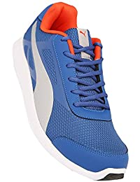 Puma Men's Silver Mesh Sports Shoes