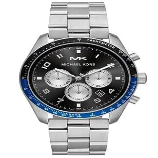 Michael Kors Reloj Cronógrafo para Unisex Adultos de Cuarzo con Correa en Acero Inoxidable MK8682