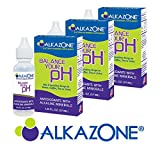 AlkaZone - Alkaline pH Booster Drops 1.25 fl oz (3-Pack) by Alkazone