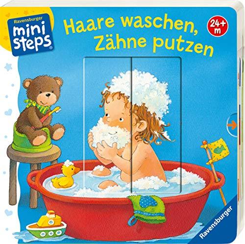 Haare waschen, Zähne putzen: Ab 24 Monaten (ministeps Bücher) - Kinder-körper-waschen