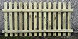 120cm (4ft) tall x 1.8m (6ft) Picket Garden Fence Panel hand built treated