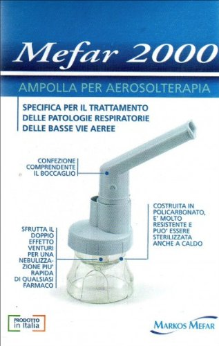 Air liquide medical lterapia mefar 2000 ampolla boccaglio e nasale aeroso