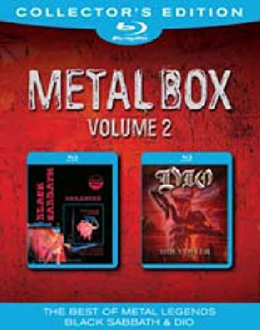 Metal Box Volume 2: Black Sabbath/DIO [Blu-ray] [Collector's (Heavy Metal Box)