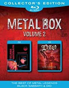 Metal Box Volume 2: Black Sabbath/DIO [Blu-ray] [Collector's Edition]