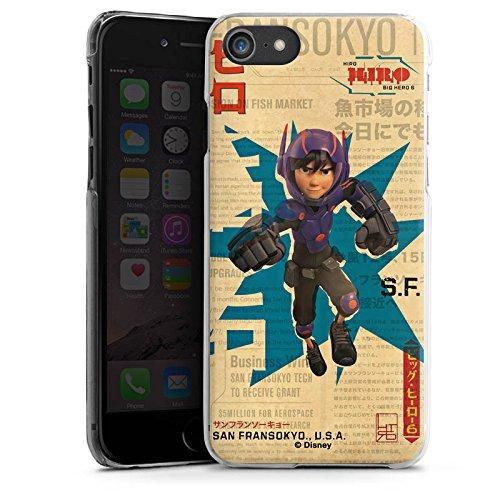 Apple iPhone X Silikon Hülle Case Schutzhülle Disney Hiro und Baymax Merchandise Zubehör Hard Case transparent