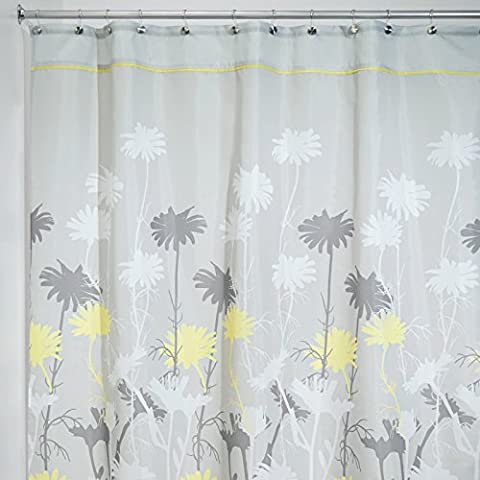 mDesign Duschvorhang - Größe: 200 x 180