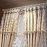 Lianaic Vorhang Vorhang Fertig High Shade Baumwolle Modernen Minimalistischen Vorhang Haken Benutzerdefinierte Einfarbig Schlafzimmer Wohnzimmer Garten Wind Schatten Tuch W90*54(228 * 137Cm)