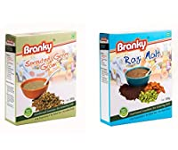 Branky Kids Food- Ragi Malt Mix & Sprouted Green Gram Mix-Combo Pack
