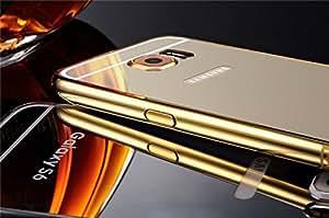 CLASSICO Luxury Aluminium Bumper Plus Mirror Acrylic Back Cover For SAMSUNG S6