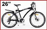 POWERPAC - MOUNTAINBIKE ELECTRIC BICYCLE BIKE E-BIKE // NEW - HYDRAULIC DISC BRAKES + BATTERY LI-ION 36V 16AH (576 Wh)!!!