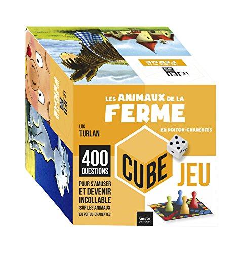Animaux de la ferme Cube par Luc TURLAN