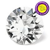 10 Stück SWAROVSKI ELEMENTS 1088 Chaton, Crystal, SS29 (Ø ca. 6,14 - 6,32 mm), Strasssteine zum Einkleben oder Fassen