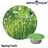 serene house wachs pod 4g - Spring Fresh 6er Pack - Duftkapsel Wachskapsel für Serene Pod Auto Duftsystem JAZZ sowie Duftstecker TORCH und GRAIL (kleine Kapseln) - Frühlingsfrische