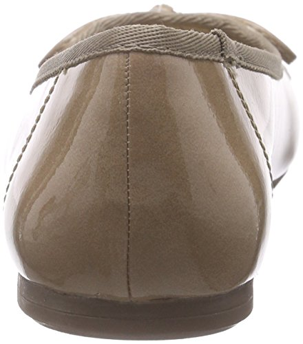 Tamaris 22100, Ballerines femme Beige (nude Patent 253)