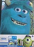 Disney Monsters University Single Duvet Set Inc cover & pillowcase
