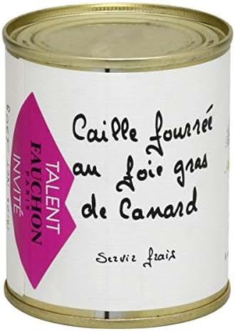 Fauchon - Caille fourrée au Foie Gras de Canard
