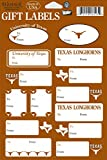 Texas Longhorns 14-Pack Gift Labels
