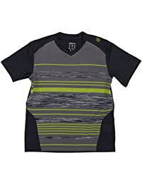 Wilson b su specialist stripe t-shirt col en v pour femme