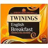 Twinings Bolsitas De Té De Desayuno Inglés 100 Por Paquete