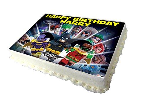 Price comparison product image A4 The Batman Lego Movie Birthday Cake Topper