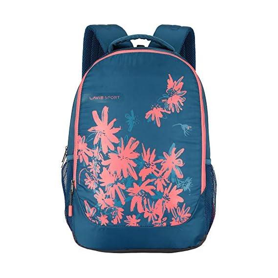 Lavie Sport 34 Ltrs Teal School Backpack (BDEI928043N4)